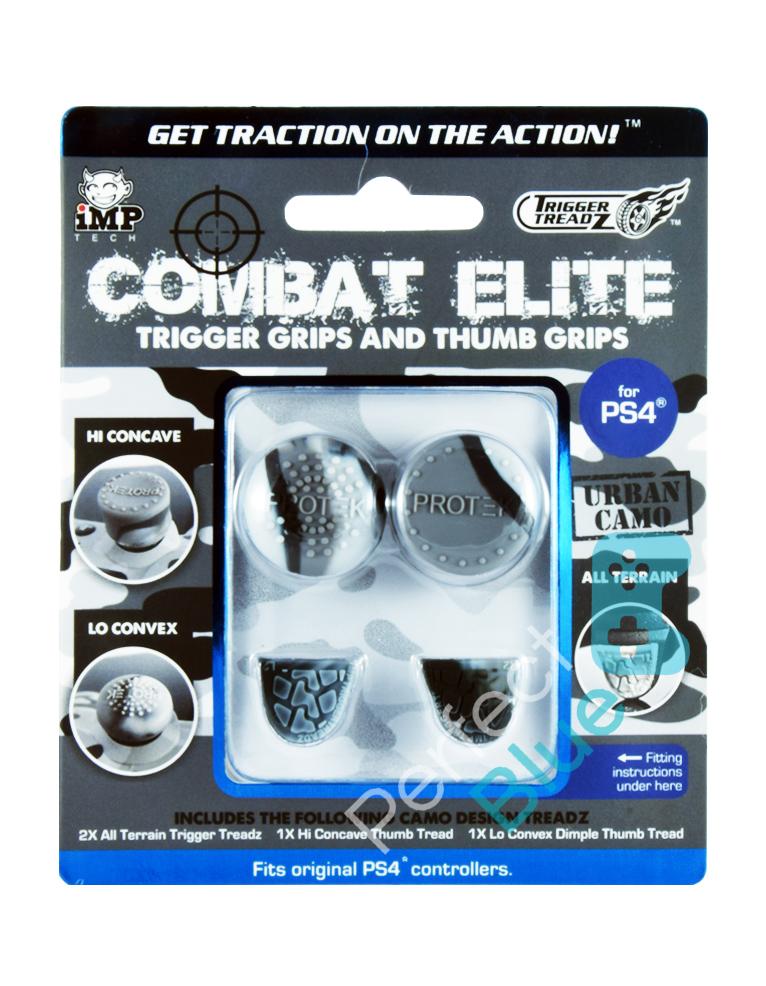 Nakładki PS4 na analogi Trigger Treadz Combat Elite