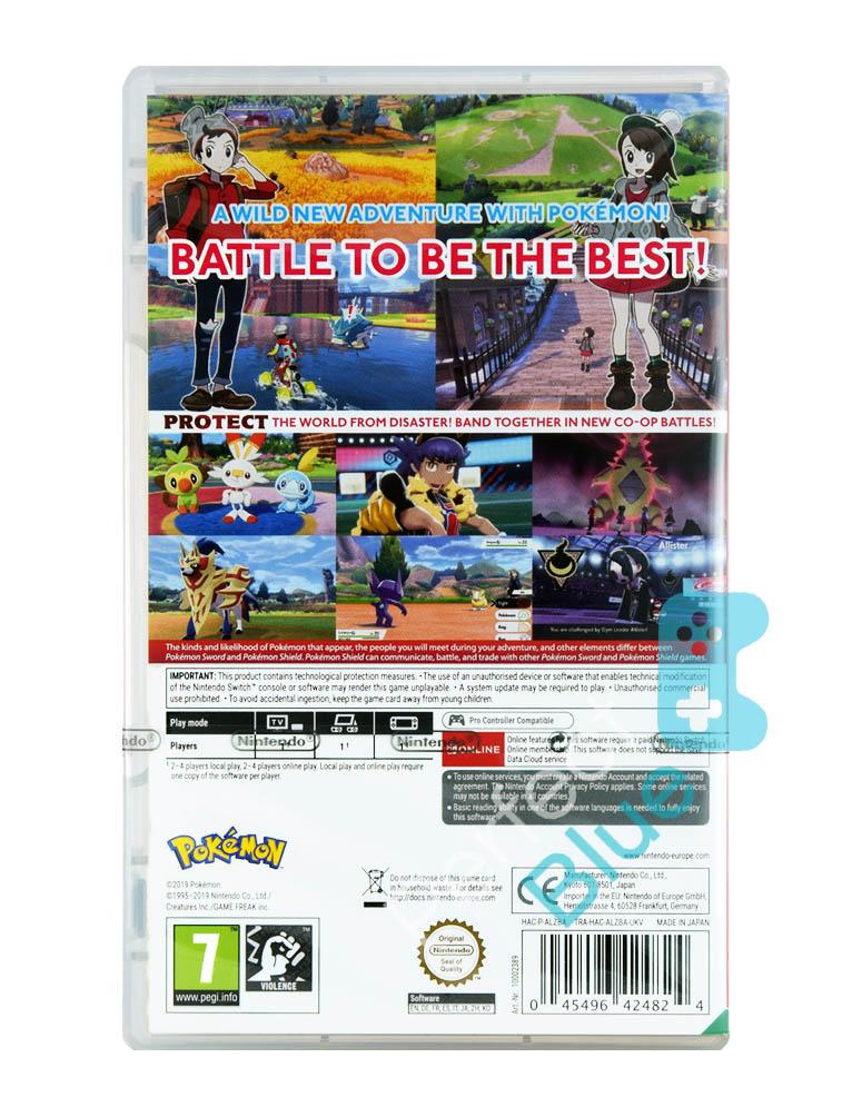 Gra Nintendo Switch / Pokemon Shield / Edycja Standardowa