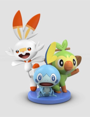 Gra Nintendo Switch Pokemon Shield and Sword Dual Pack + Figurka + DLC!