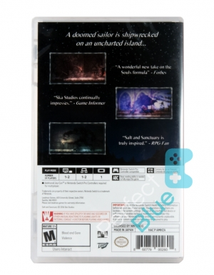 Gra Nintendo Switch Salt and Sanctuary – Drowned Tome Edition