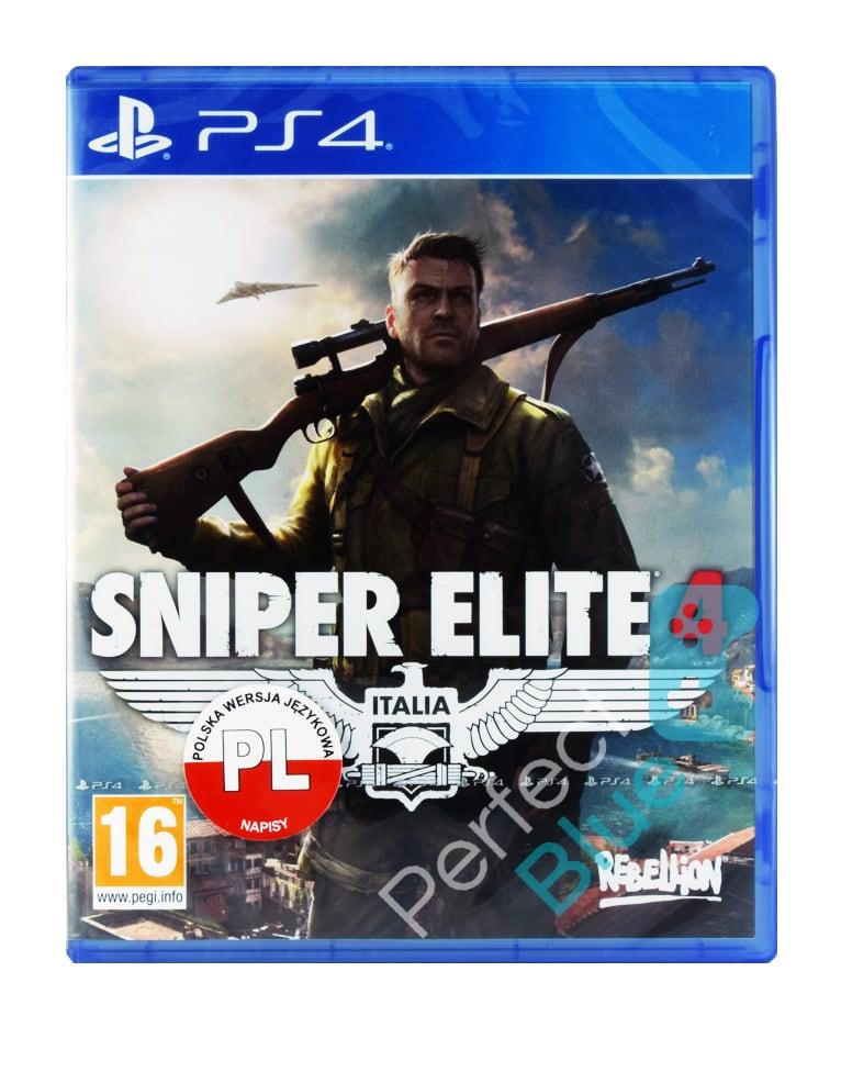 Gra PS4 Sniper Elite 4 Italia