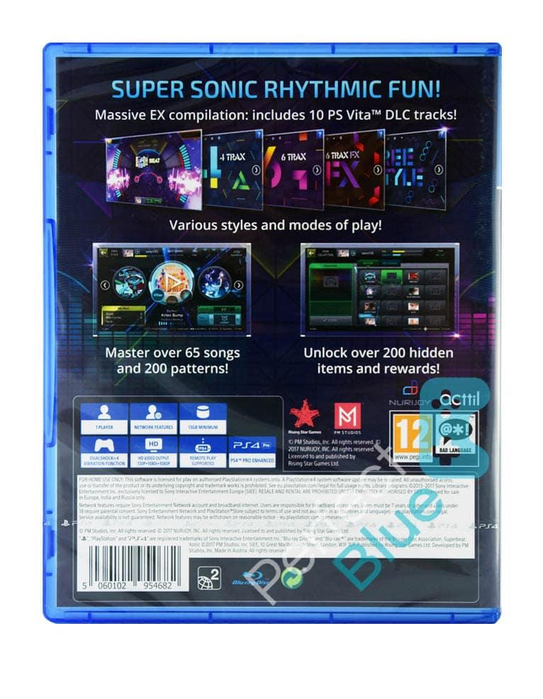 Gra PS4 Superbeat Xonic Ex