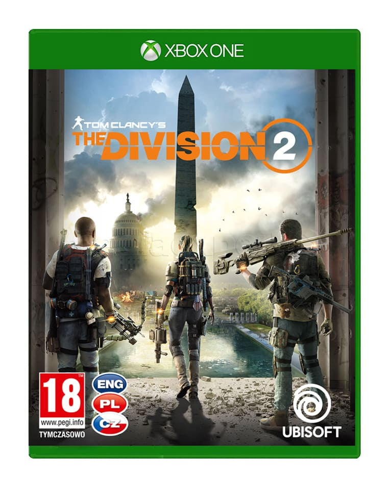 Gra Xbox One Tom Clancys The Division 2 Preorder Perfectblue