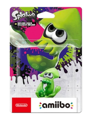 Figurka Amiibo Splatoon - Inkling Squid Calamar Inkling (Zielona)