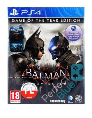 Gra PS4 Batman Arkham Knight GOTY PL