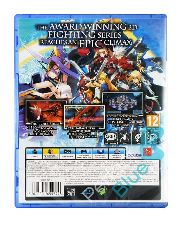 Gra PS4 BlazBlue Central Fiction