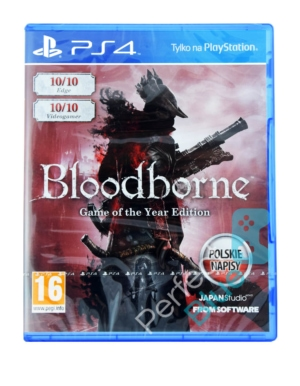 Gra PS4 Bloodborne GOTY Edycja Game of the Year