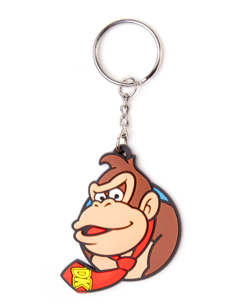 Gadżet Gumowy Brelok - Super Mario - Donkey Kong