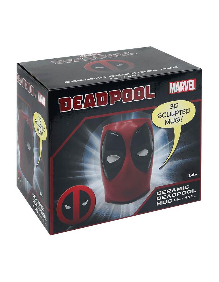 Gadżet Kubek Marvel Deadpool 3D