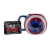 Gadżet Kubek Marvel Avengers Tarcza Kapitan Ameryka 3D
