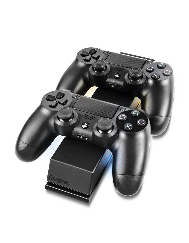 PDP Ładowarka Energizer do Padów PS4 + 2 dodatkowe Akumulatory.