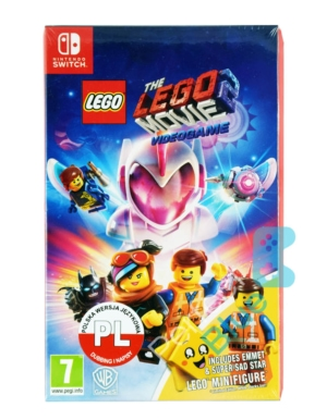 Gra Nintendo Switch Lego The Movie 2 Videogame / Lego Przygoda + Figurka
