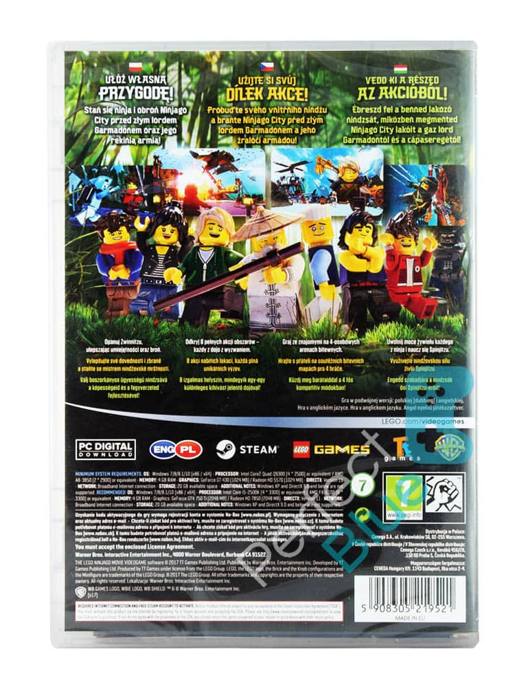 Gra PC Lego The Ninjago Movie Videogame