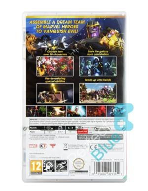 Gra Nintendo Switch Marvel Ultimate Alliance 3: The Black Order + Gratisy