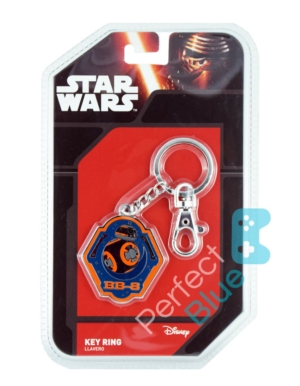 Gadżet Metalowy Brelok Star Wars BB-8 Orange Edge