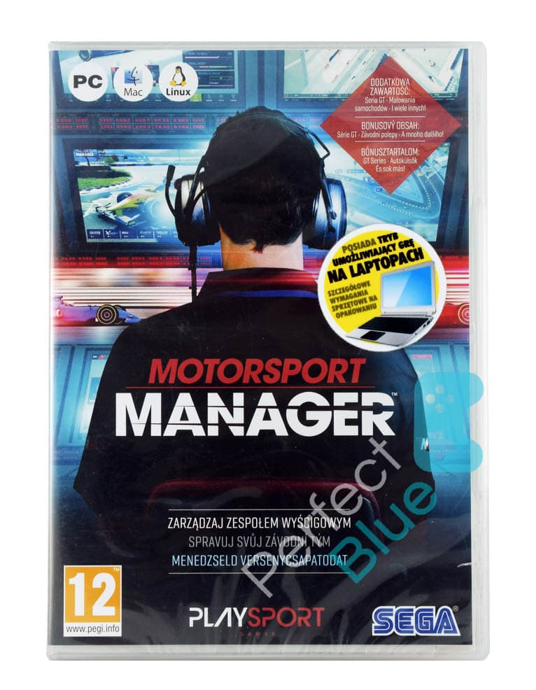 Gra PC MotorSport Manager