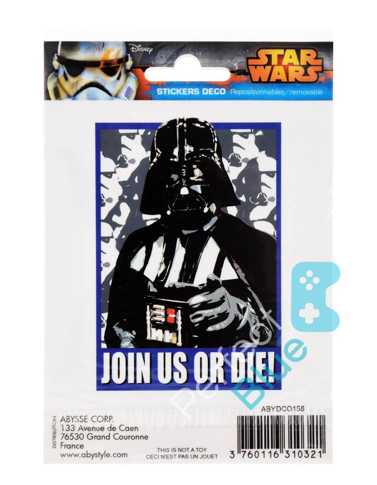 Gadżet 2 Naklejki Star Wars Darth Vader