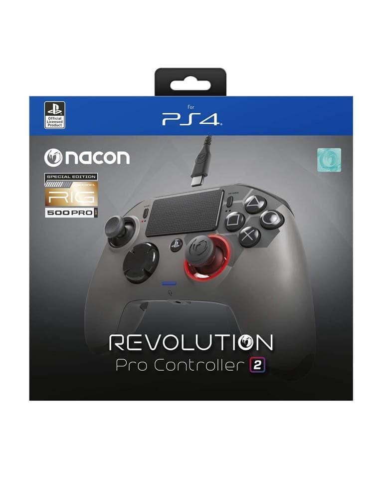 Nacon Revolution V.2 RIG Pad Przewodowy PRO Controller PS4