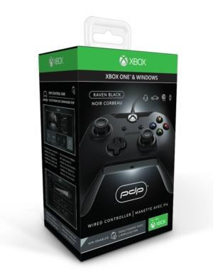 PDP Pad Kontroler Przewodowy - Xbox One / PC - Czarny