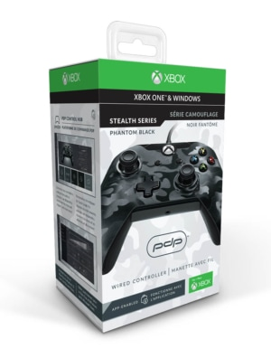 PDP Pad Kontroler Przewodowy - Xbox One / PC - Czarny Moro