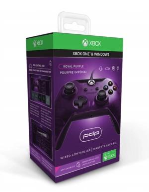 PDP Pad Kontroler Przewodowy Xbox One Fioletowy