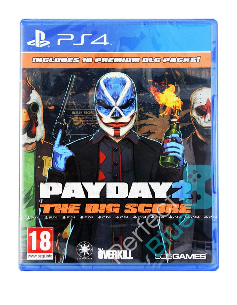 Gra PS4 PayDay 2 The Big Score