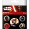 Gadżet Metalowe Przypinki Star Wars Episode VII Resistance