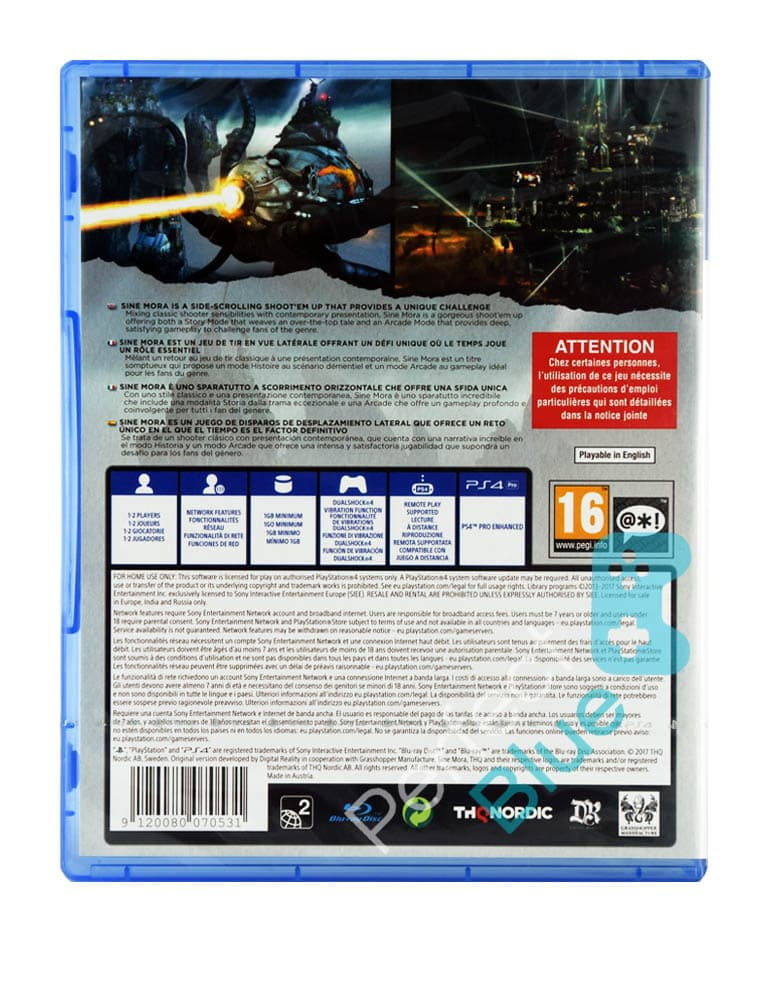 Gra PS4 Sine Mora EX