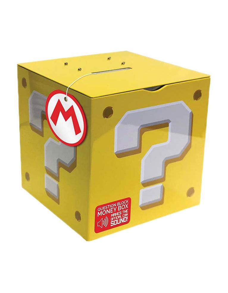 Gadżet Grająca Skarbonka Super Mario - Question Block