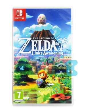Gra Nintendo Switch The Legend of Zelda Links Awakening + 8 magnesów + ścierka do ekranu!