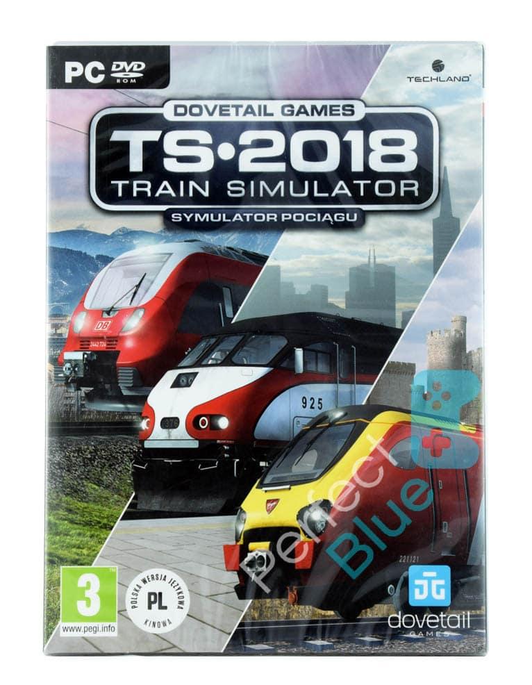 Gra PC Symulator Pociągu / Train Simulator TS 2018