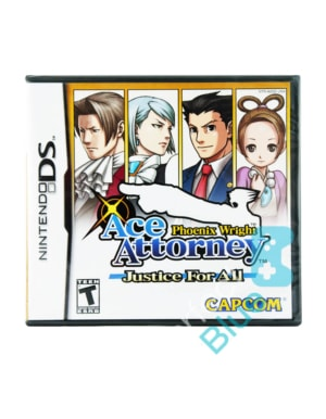 Gra Nintendo DS Phoenix Wright: Ace Attorney - Justice for All