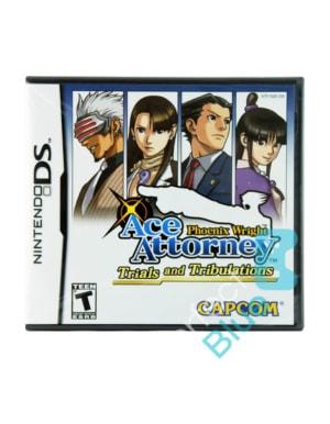 Gra Nintendo DS Phoenix Wright: Ace Attorney - Trials and Tribulations