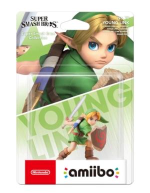 Figurka Amiibo - Super Smash Bros. Collection - Young Link No. 70