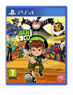 Ben 10 Ten Gra Ps4