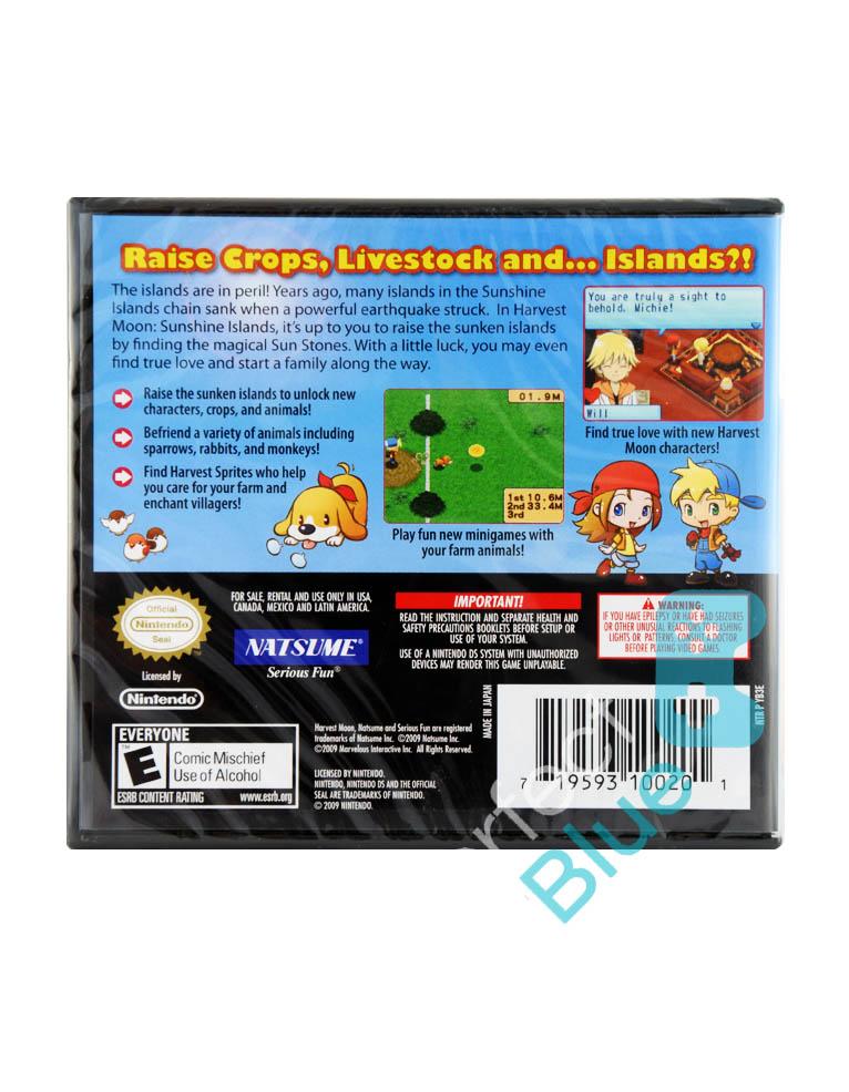 Gra Nintendo DS Harvest Moon: Sunshine Islands