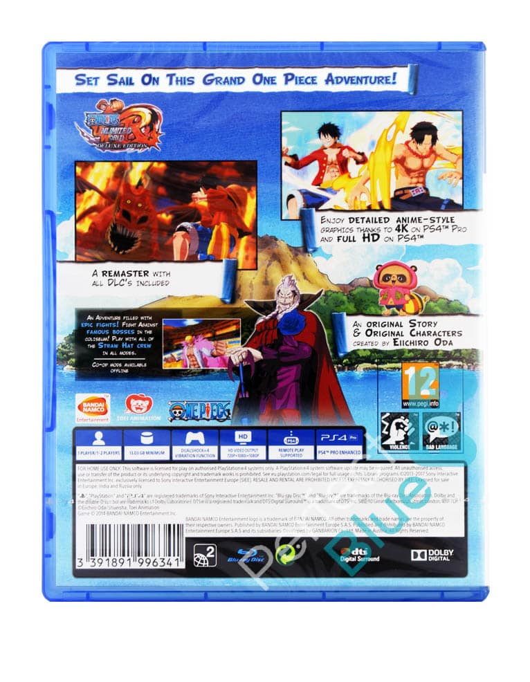Gra PS4 One Piece: Unlimited World Red Deluxe Edition