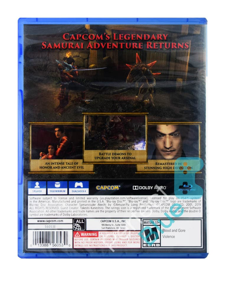 Gra PS4 Onimusha: Warlords