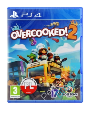 Gra PS4 Overcooked 2!