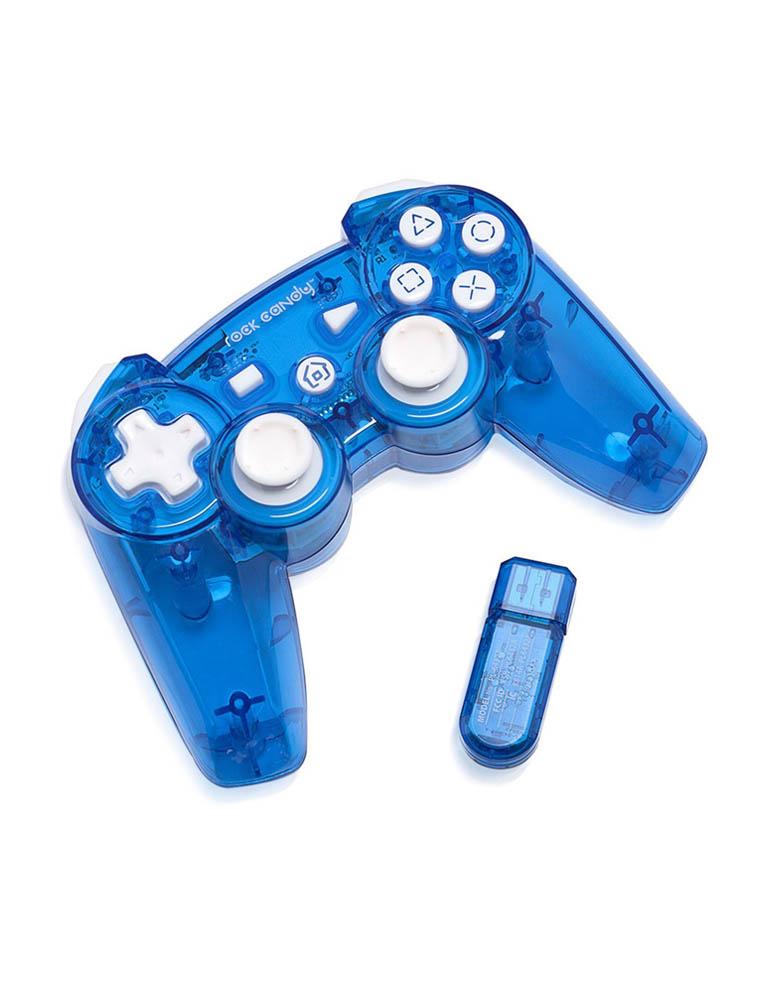PDP Pad Kontroler PS3 Bezprzewodowy - Blueberry Boom - Rock Candy