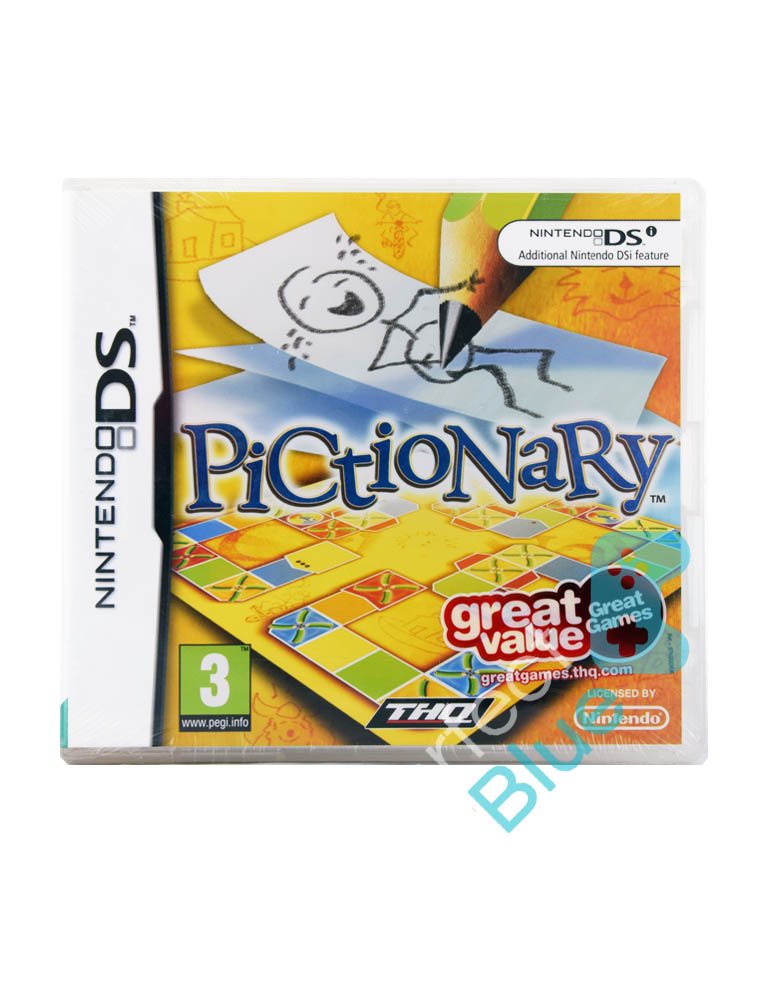Gra Nintendo DS Pictionary