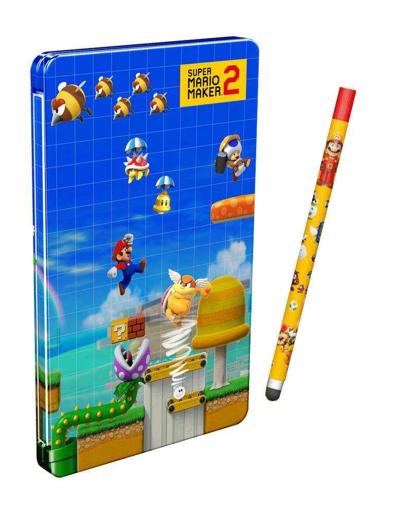 Gra Nintendo Switch Super Mario Maker 2 Limited Edition + Stylus + Steelbook