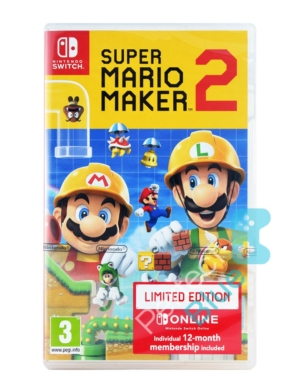 Gra Nintendo Switch Super Mario Maker 2 Limited Edition