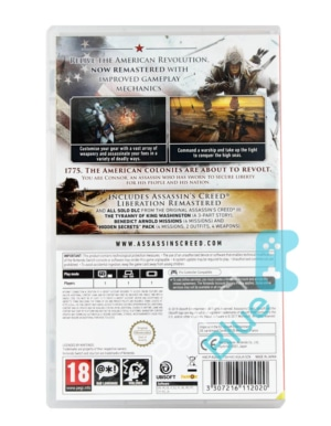 Gra Nintendo Switch Assassins Creed III Remastered + Assassins Creed Liberation Remastered PL
