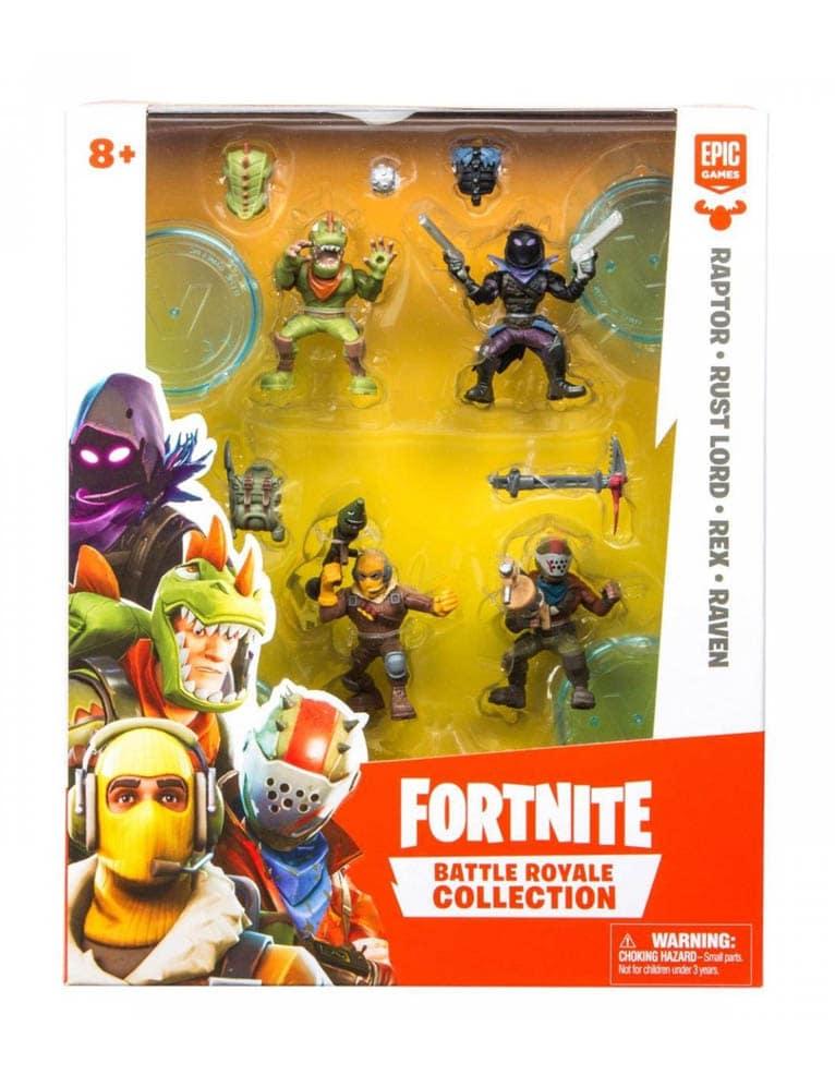 Figurka Fortnite Battle Royale Collection - zestaw 4 figurek