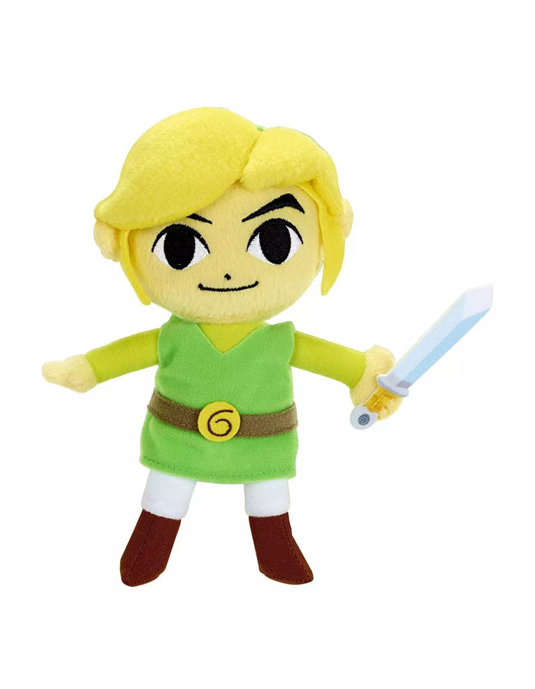 Gadżet Pluszowa Maskotka Nintendo The Legend of Zelda – Link - 18cm