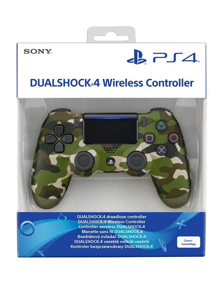 Pad kontroler Sony PS4 DualShock 4 v2 Zielony Moro / Green Camouflage