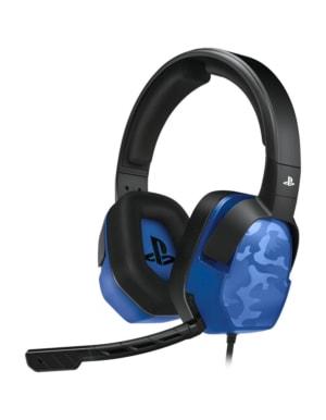 PDP Słuchawki Lvl. 3 PS4 / Niebieski Moro