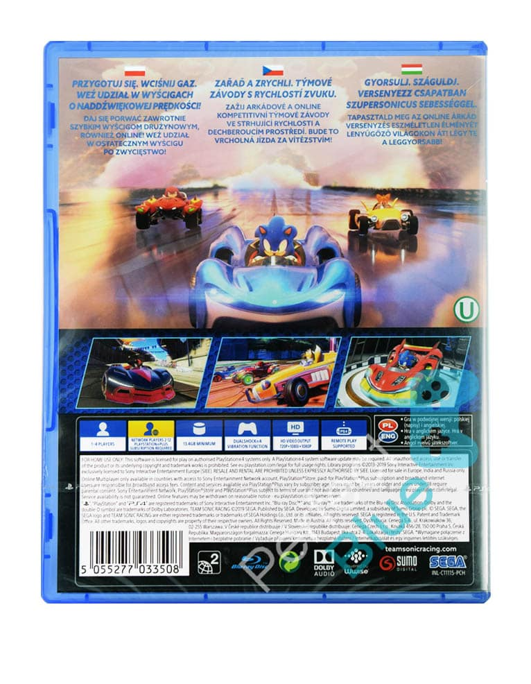 Gra PS4 Team Sonic Racing PL