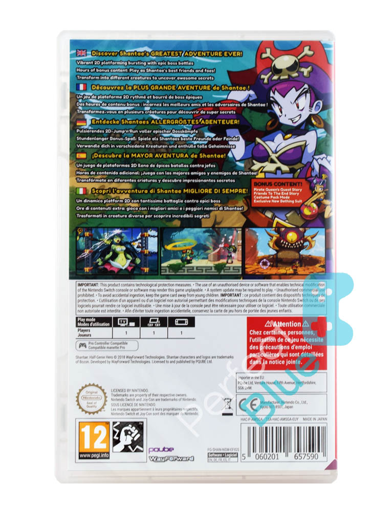 Gra Nintendo Switch Shantae Half Genie Hero Ultimate Edition